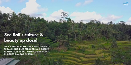 Coffee & Culture in Bali | FREE Virtual Tour of Bali's Highlands tickets
