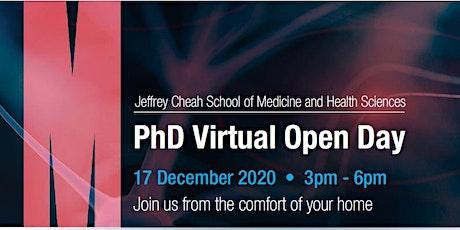 Monash PhD Virtual Open Day tickets