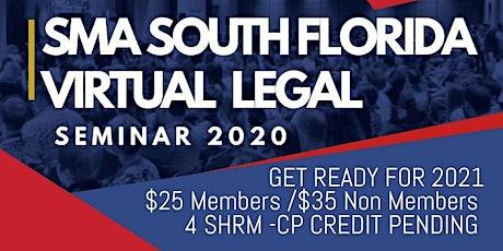 SMA Virtual Legal Seminar 2020 tickets