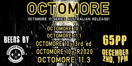 Octomore - Peat of Darkness ( Australian  Octomore 11 Series Release) tickets