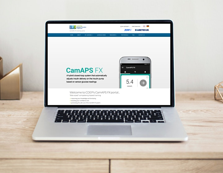CamAPS FX Webinar 7: using closed-loop insulin delivery in Young Children image