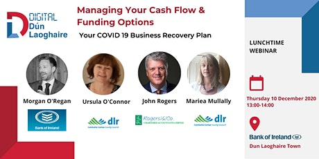 Managing Your Cash Flow & Options for Funding- Your COVID-19 Recovery Plan tickets