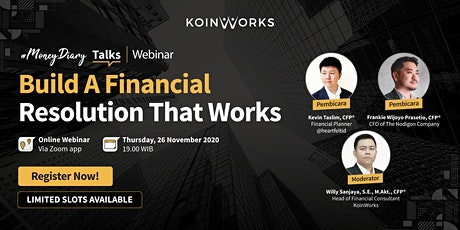 MoneyDiary Talks: Build A Financial Resolution That Works tickets