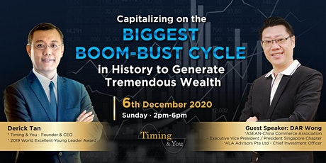 Capitalizing on the Biggest Boom-Bust Cycle in History tickets