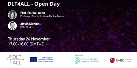 DLT4ALL Open Day #1 by University of Nicosia tickets