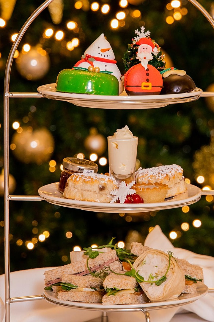Christmas Afternoon Tea with Santa and his Friends image
