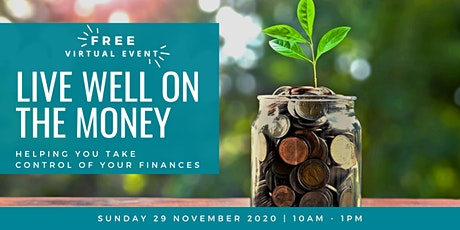 Live Well on the Money – Helping you Take Control of your Finances tickets
