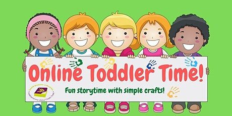Online Toddler Time tickets