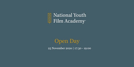 National Youth Film Academy Open Day