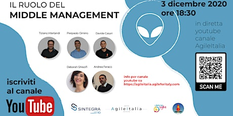 Il Ruolo del Middle Management tickets