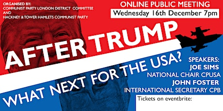 After Trump: What Next for The US? tickets
