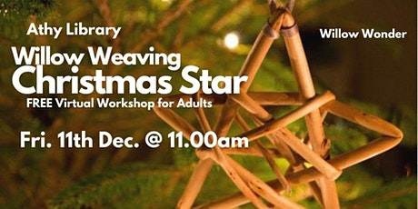 Willow Weaving Christmas Star tickets