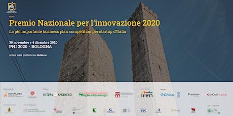 PNI - Premio Nazionale per l'Innovazione 2020 | 30 novembre e 4 dicembre biglietti