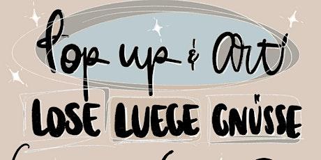 POP UP & ART - 'LOSE'  Geschichtenerzählen / Story Telling / Annahita @MDLM Tickets