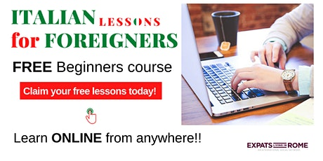 Free Italian lessons for foreigners | Beginners course