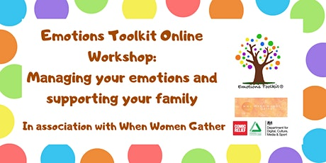 When Women Gather: Managing your emotions and supporting your family tickets