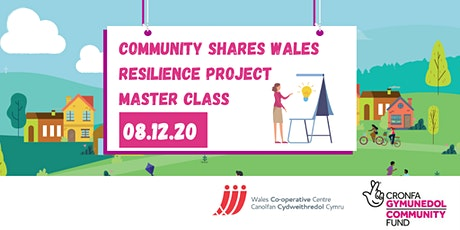 Community Shares Wales Masterclass tickets