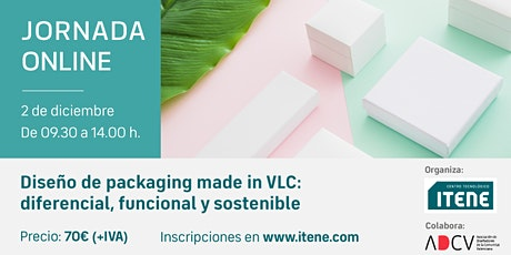 Jornada online -  Diseño de packaging made in VLC entradas