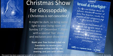 Bread & Starlight - Glossopdale Christmas Show tickets