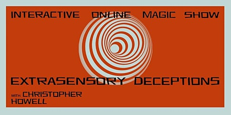 Magic Show Charity Fundraiser - Extrasensory Deceptions tickets