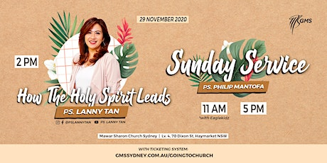 Special English Live Service @ 2pm - 29 November 2020 tickets