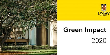 UNSW Green Impact 2020 - Awards Ceremony tickets