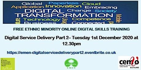 Digital Service Delivery Part 2(EMEN Digital Inclusion Workshops) tickets