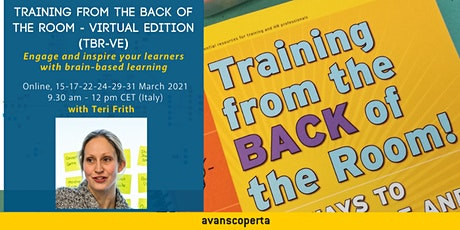 Training from the BACK of the Room – Virtual Edition (TBR-VE)