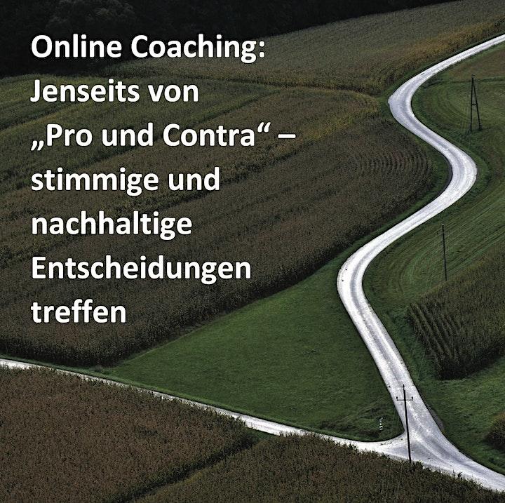Online-Coaching: Stimmige und nachhaltige Entscheidungen treffen: Bild