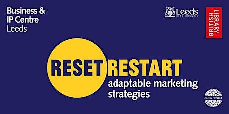 Reset. Restart: 1:1 marketing advice with Rich Sutcliffe tickets