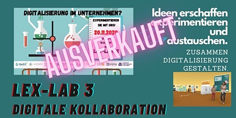 3. LEx Labor  - > Digitale Kollaboration 1 tickets