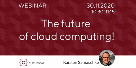 The future of cloud computing! tickets