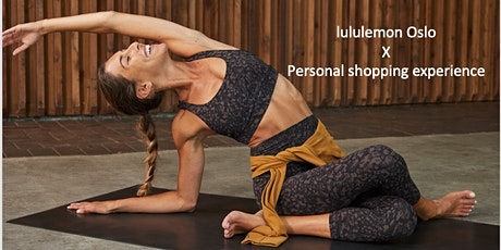 In store Personal Shopping Experience - lululemon Oslo tickets