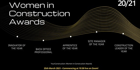 Women In Construction - 2020/21 Awards tickets