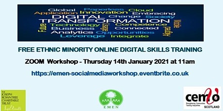 Zoom Workshop (EMEN Free Digital Inclusion Workshops) tickets