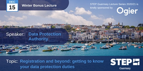 STEP Winter Bonus Lecture: Data Protection Authority tickets