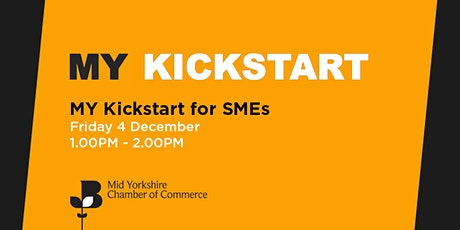 Lunchtime intro: The Kickstart scheme for SMEs tickets
