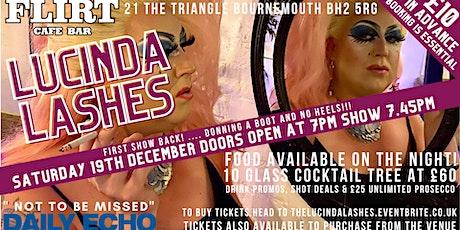 Lucinda Lashes tickets