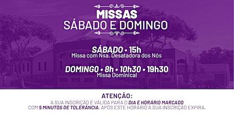 Missa Sábado e Domingo - 28 e 29 de Novembro  -  P.  N. Sra. da Assunção ingressos