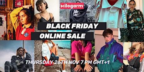 KILOGARM UK BLACK FRIDAY SALE NOV 26TH 7PM GMT+1 tickets