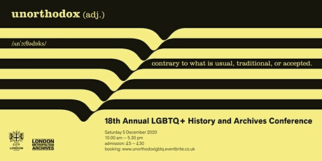 18th  Annual LGBTQ+ Conference: UNORTHODOX tickets