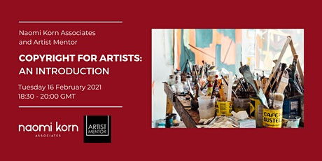 Copyright for Artists: An Introduction tickets
