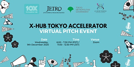 X-HUB Tokyo Virtual Accelerator Pitch Night tickets