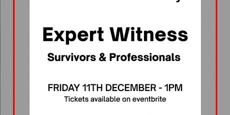 Expert Witness tickets