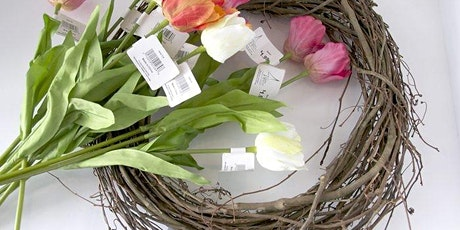 Flower Arranging - Fresh Spring Wreath - Online Course - Community Learning tickets