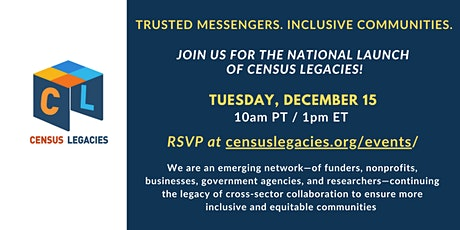 Census Legacies National Launch