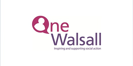 One Walsall - Resilience Session - Sarah Taylor tickets