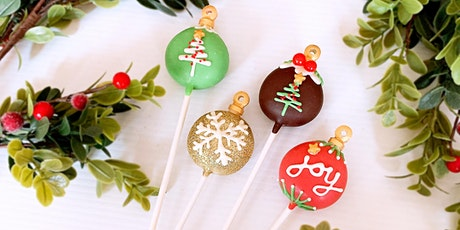 Christmas Cake Pop Decorating tickets