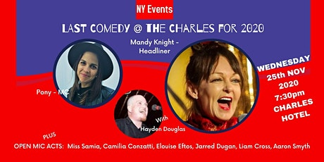 NY Events - Comedy at the Charles tickets