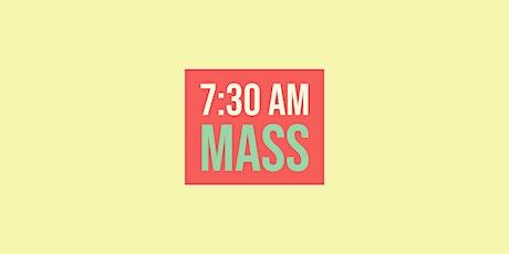 7:30 Mass - November 29, 2020 tickets